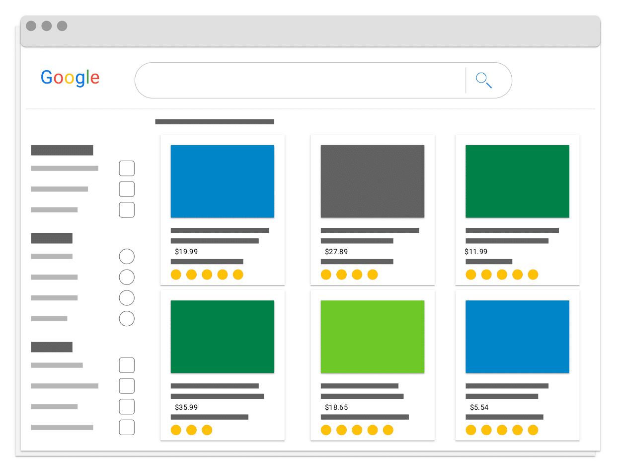 google shopping graphic